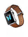 Apple Watch 38 мм, Классическая пряжка (Золотисто-коричневая кожа), фото 2