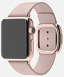 Apple Watch Edition, 38 mm. / Gold Modern Buckle Rose Grey, фото 5