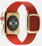Apple Watch Edition, 38 mm. / Gold Modern Buckle Bright Red, фото 2