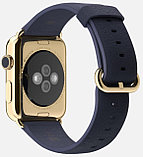 Apple Watch Edition, 42 mm. / Gold Classic Buckle Midnight Blue, фото 3