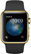 Apple Watch Edition, 38 mm. / Gold Sport Black