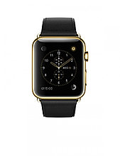 Apple Watch Edition Classic Black 42 мм, 18-каратное жёлтое золото