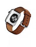 Apple Watch 38 мм, Классическая пряжка (Золотисто-коричневая кожа), фото 3