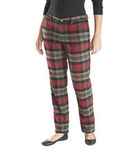 Штаны Woolrich Women's Richville Wool Plaid Pant - Curved Fit
