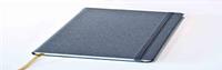 Блокнот Delhi, в точку,13*21, цвет серый