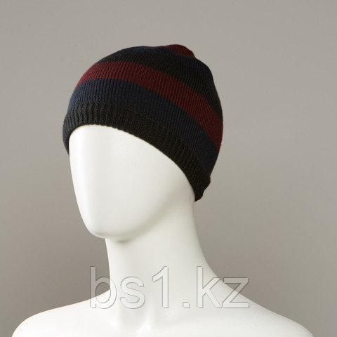 Army Stripe Knit Beanie