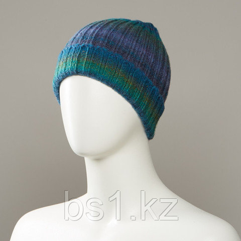 Code Marl Stripe Cuff Hat