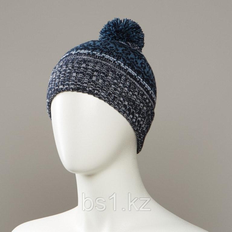 Detour Marl Knit Hat With Pom