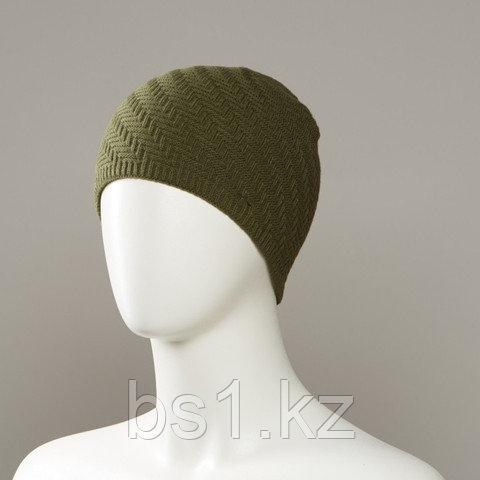 Fray Textured Knit Beanie