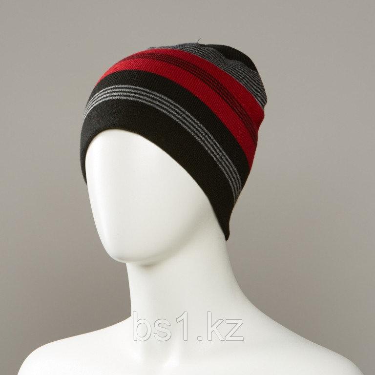 Jabbour Stripe Slouch Beanie