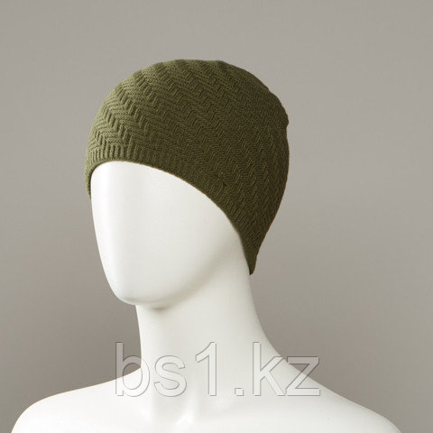 Fray Textured Knit Beanie