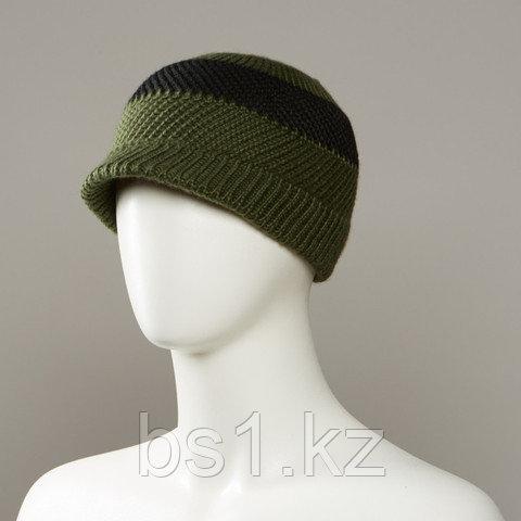Twang Textured Knit Beanie With Soft Visor