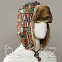 Supremo Jacquard Trapper Hat With Faux Fur Lining