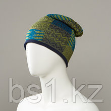 Extra Jacquard Slouch Beanie