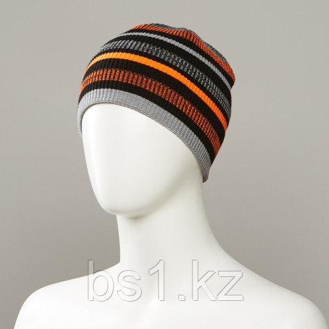 Ronan Stripe Knit Beanie