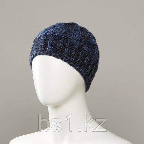 Search Marl Knit Textured Beanie
