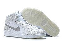 """Кожаные кроссовки Air Jordan 1 Retro """"Laser"""" (40-46), фото 2"""
