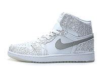 """Кожаные кроссовки Air Jordan 1 Retro """"Laser"""" (40-46), фото 5"""