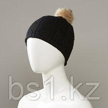 Laurel Knit Hat With Pom