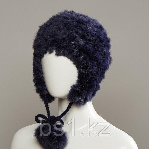 Azyre Real Fur Peruvian With Genuine Fur Pom Tie Cords