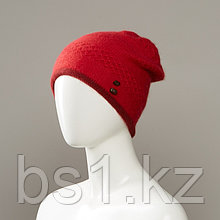 Samiel Slouch Beanie With Buttons