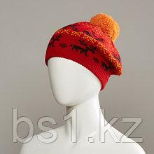 Bokram Jacquard Knit Beret