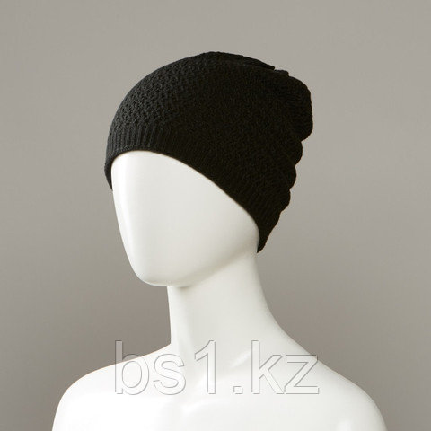 Bee Textured Knit Hat