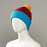Brave Cuffed Knit Hat With Pom, фото 3