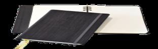 Блокнот Gardena, в линейку со скрытой пружиной, 12,6*21, цвет антрацит