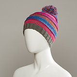 Change Textured Knit Hat With Pom, фото 3