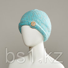 Galaxy Knit Hat With Button