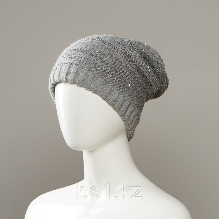 Drag Slouch Hat With Lurex