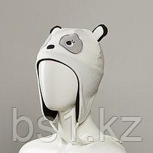 Iron Fleece Animal Hat With Full Fleece Lining And Tassles