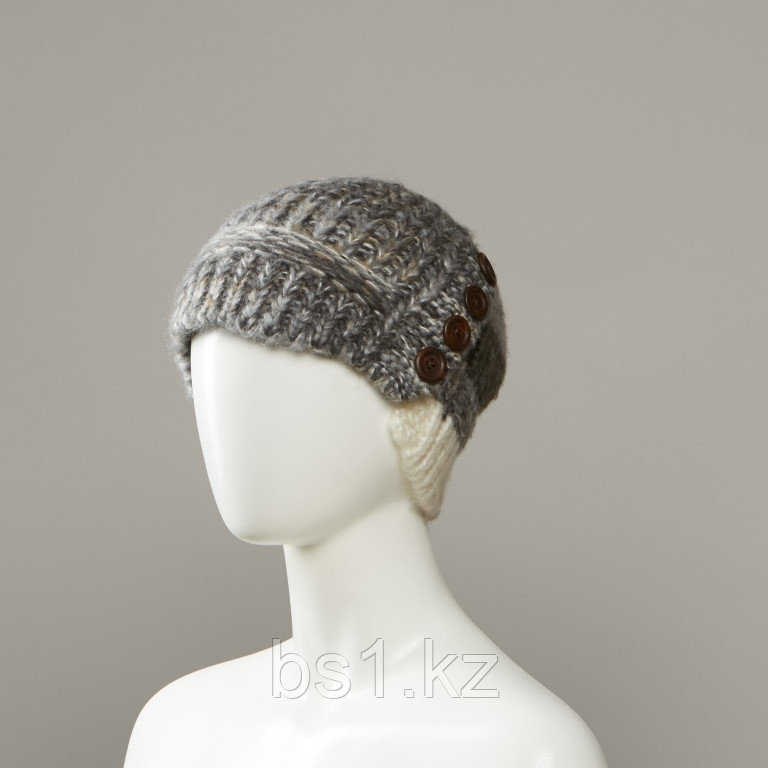 Middle Novelty Knit Visor Hat