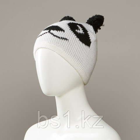 Burdette Animal Print Knit Hat