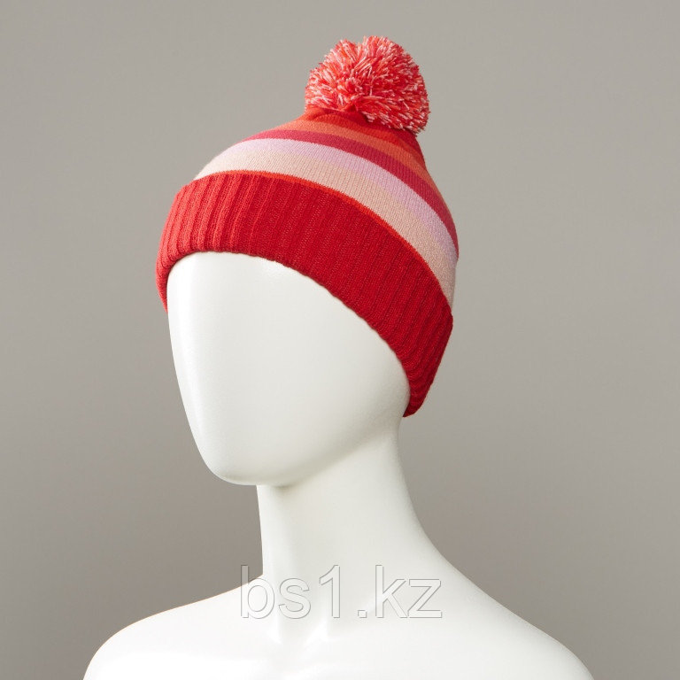 Caponata Stripe Knit Cuff Hat