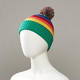 Caponata Stripe Knit Cuff Hat, фото 3