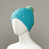 Dunes Textured Knit Hat With Multi-Colour Pom, фото 3
