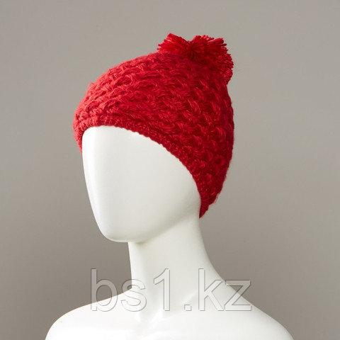 Kalamata Textured Knit Hat With Pom