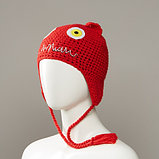 Maniacs Knit Monster Hat With Full Fleece Lining And Tassles, фото 2