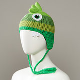 Maniacs Knit Monster Hat With Full Fleece Lining And Tassles, фото 3