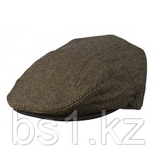 Moore Newsboy Cap With Leather Brim