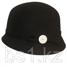 Cute As A Button Retro Ladies Cloche Wool Hat