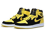 """Кожаные кроссовки Air Jordan 1 Retro """"Bruce Lee"""" (40-46)"""