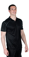 Microtech Loose Fit 1/4 Zip Polo Shirt