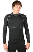 HEATR® Body-Mapped Long Sleeve Base Layer Shirt