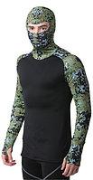 HEATR® Digital Camo Hooded Shirt