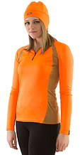 PF Women's 1/4 Zip Shirt