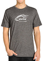 WSI Heather Grey Loose Fit Short Sleeve Performance Shirt