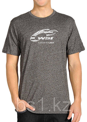 WSI Heather Grey Loose Fit Short Sleeve Performance Shirt